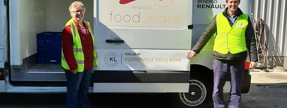 Fosterville Gold Mine Sponsors Bendigo Foodshare