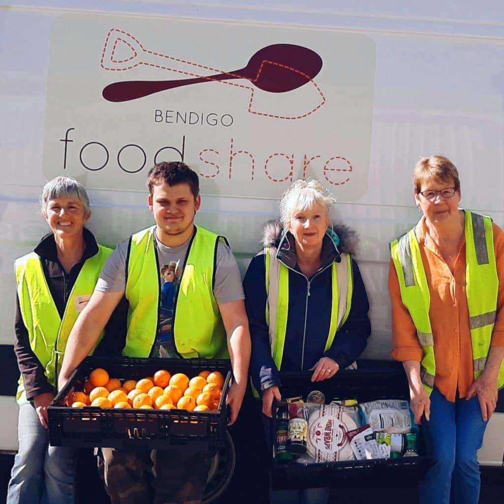 Bendigo Foodshare volunteers