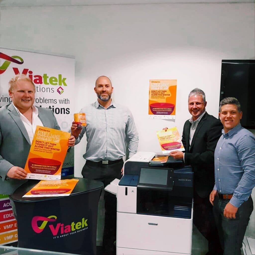 Viatek staff support bendigo foodshare
