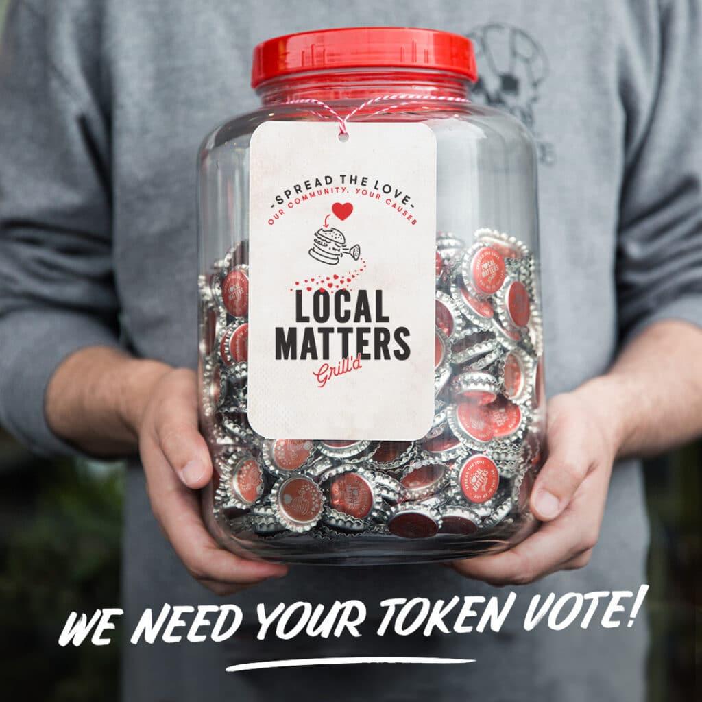 Grill'd Local matters jar